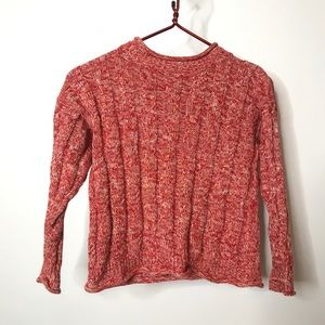 Hanna Andersson Cable Knit Sweater Size 120 (6-7)